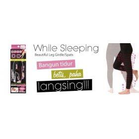 Beautiful Leg Girdle/Spats - While Sleeping