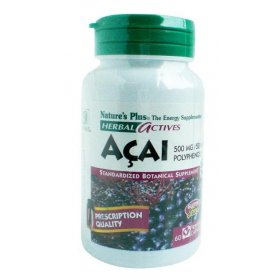 Acai 500 MG (60 Vegecaps) - Slimming Capsule