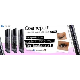Cosmeport - Promade Liquid Eye Liner - 01 Black