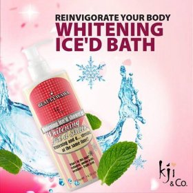 Whitening Ice'd Bath Shower Gel