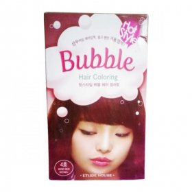 Hot Style Bubble Hair Coloring (04 Wine Red)