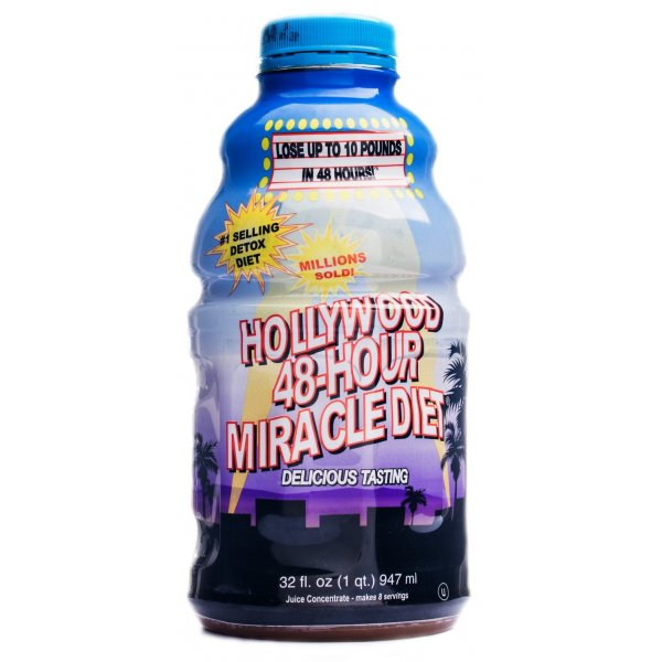 Hollywood 48 Hour Miracle Diet/947ml/48 jam turun 5 kg