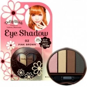 KOJI - Dolly Wink - Eyeshadow 02 - Pink Brown