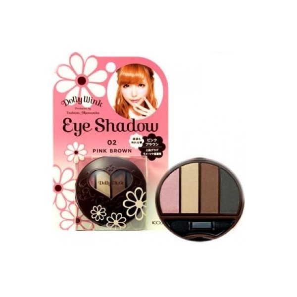 KOJI - Dolly Wink - Eyeshadow 02 - Pink Brown
