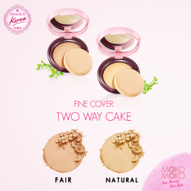 Fine Cover Two Way Cake (Natural)