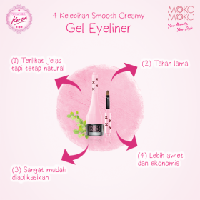 Smooth Creamy Gel Eyeliner (Black)