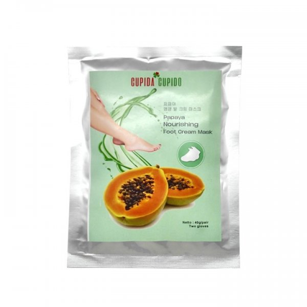 Cupida Cupido Foot Cream Mask - Papaya