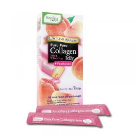 Puru Puru Collagen Jelly ( Peach Juice ) (7 Sachet)