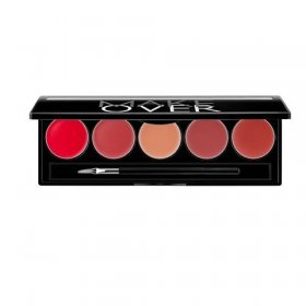 Lip Color Palette (Retro Red)