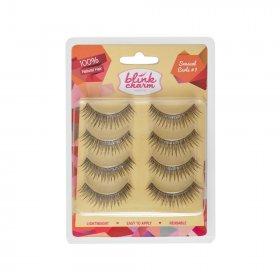 Eyelashes Sensual Curls 1 (Isi 4 Pasang )