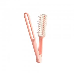 Hair Straightening Comb (Pink)