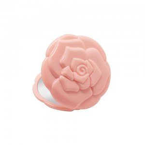 Rose Compact Mirror (Pink)