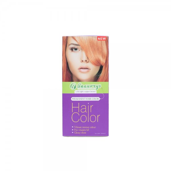 Hair Color Cream Light Copper Brown