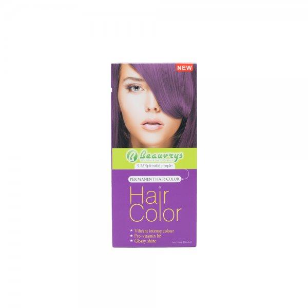 Hair Color Cream Splendid Purple