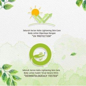 Lightening Skin Care Body Lotion - Melon Fantasy Scent (100ml)