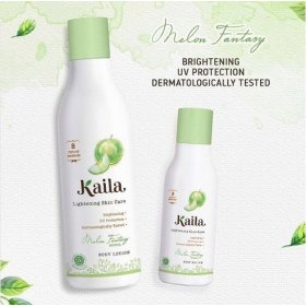 Lightening Skin Care Body Lotion - Melon Fantasy Scent (200ml)