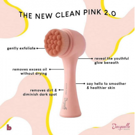 Facial Cleansing Brush - New Clean Pink 2.0