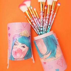 Bubble Gump - Brush Set (10 Brush + Tabung)