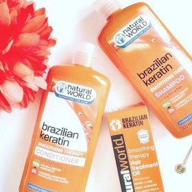 Brazilian Keratin Smoothing Therapy Shampoo (500ml)