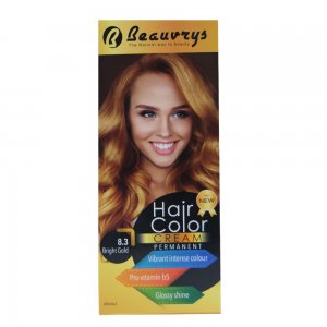 Hair Color Cream Bright Gold