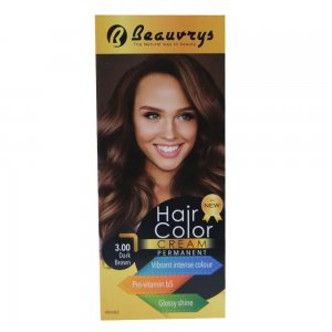 Hair Color Cream Dark Brown