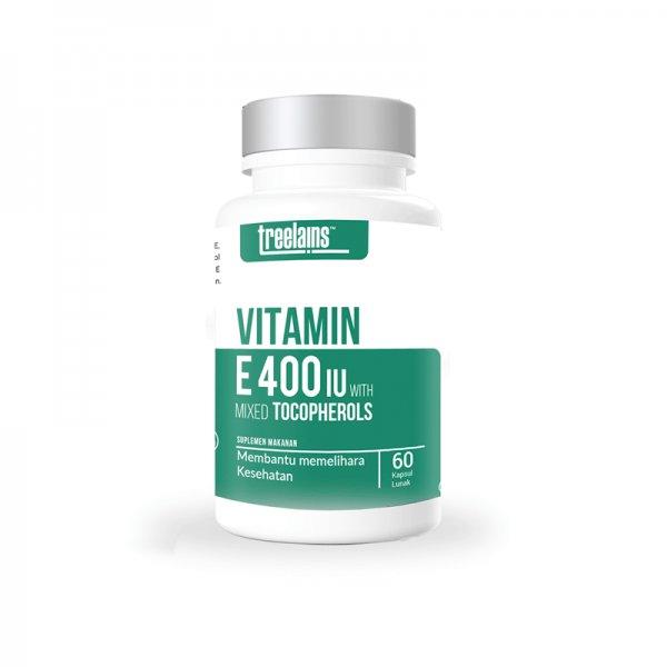 Vitamin E Mixed Tocopherol 400 (60 caps)