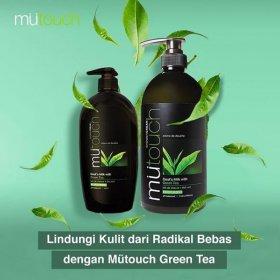 Goat's Milk Shower Cream - Green Tea (1000ml)