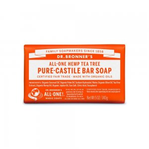 Pure Castile Bar Soap Tea Tree (140gr)