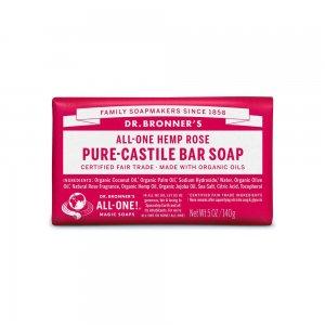 Pure Castile Bar Soap Rose (140gr)