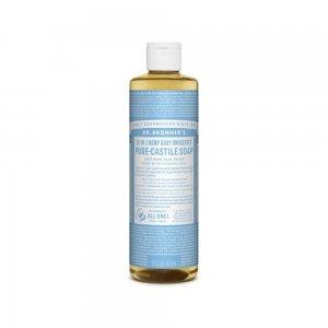Pure Castile Liquid Soap Baby Unscented (473ml)