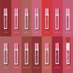Beauty Lip Matte (12 Coral Cookies)