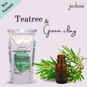Peel Off Mask Powder - Teatree & Green Clay (500g)
