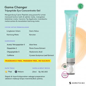 GAME CHANGER - Tripeptide Eye Concentrate Gel (20ml)