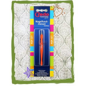 Credo Solingen Curticle Trimmer Orange