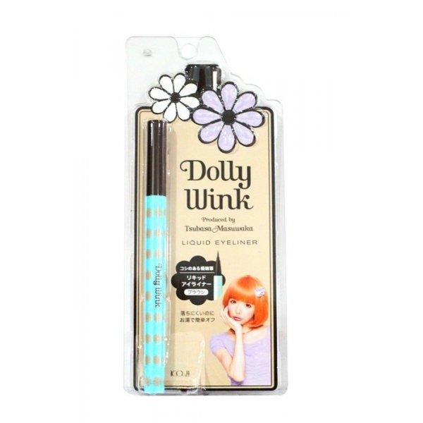 Koji - Dolly Wink - Liquid Eyeliner - Brown (Waterproof)