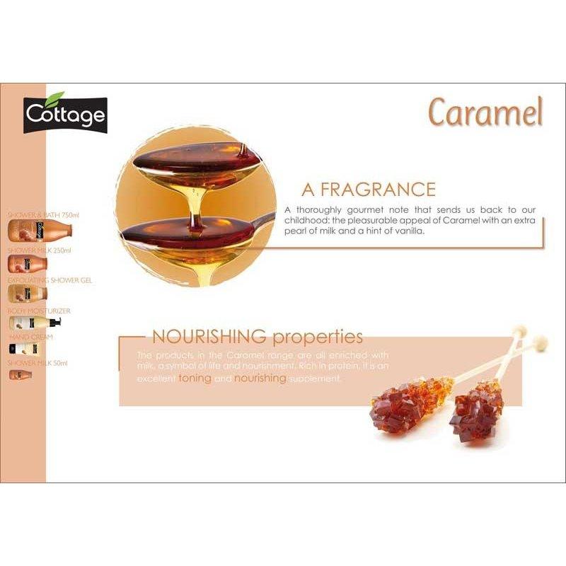 cottage shower gel caramel  250ml Body Wash Bath and Body Shower Gel