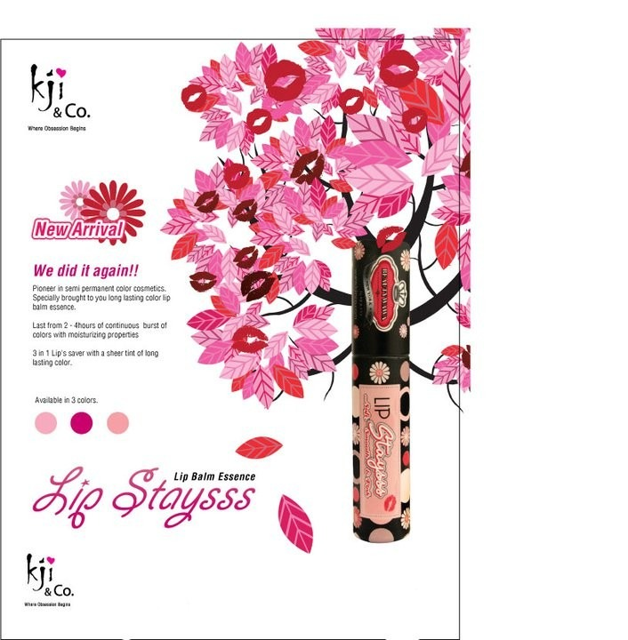 Kji & Co - Lip Staysss | Lip Balm Essence