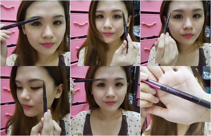 Kji & Co - 24 Hours Eyebrow Marker (Choose Color)