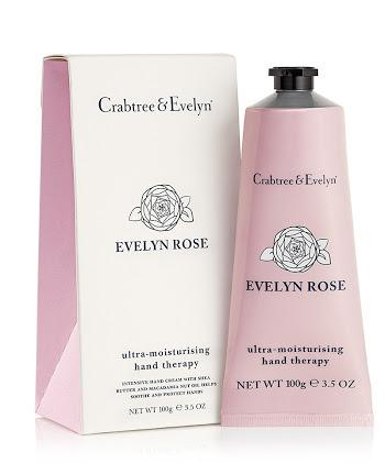 Crabtree & Evelyn - Ultra Moisturising Hand Therapy - Evelyn Rose (Choose Size)