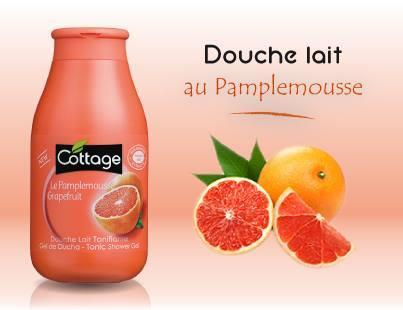 Cottage - Tonic Shower Gel - Grapefruit (Choose Size)