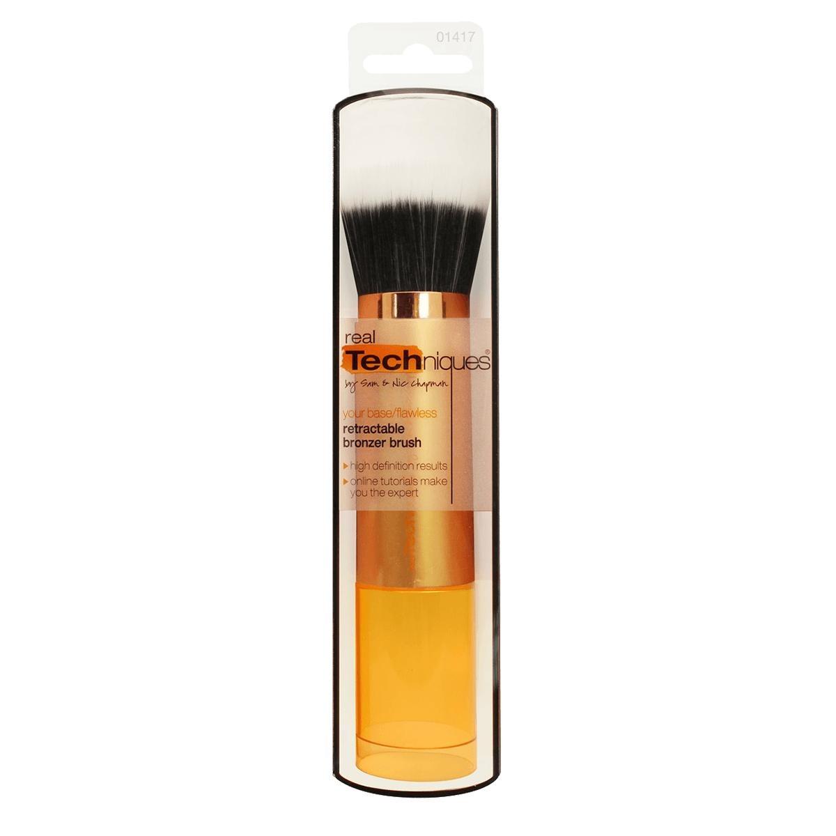 Real Techniques - 1417 Retractable Bronzer Brush