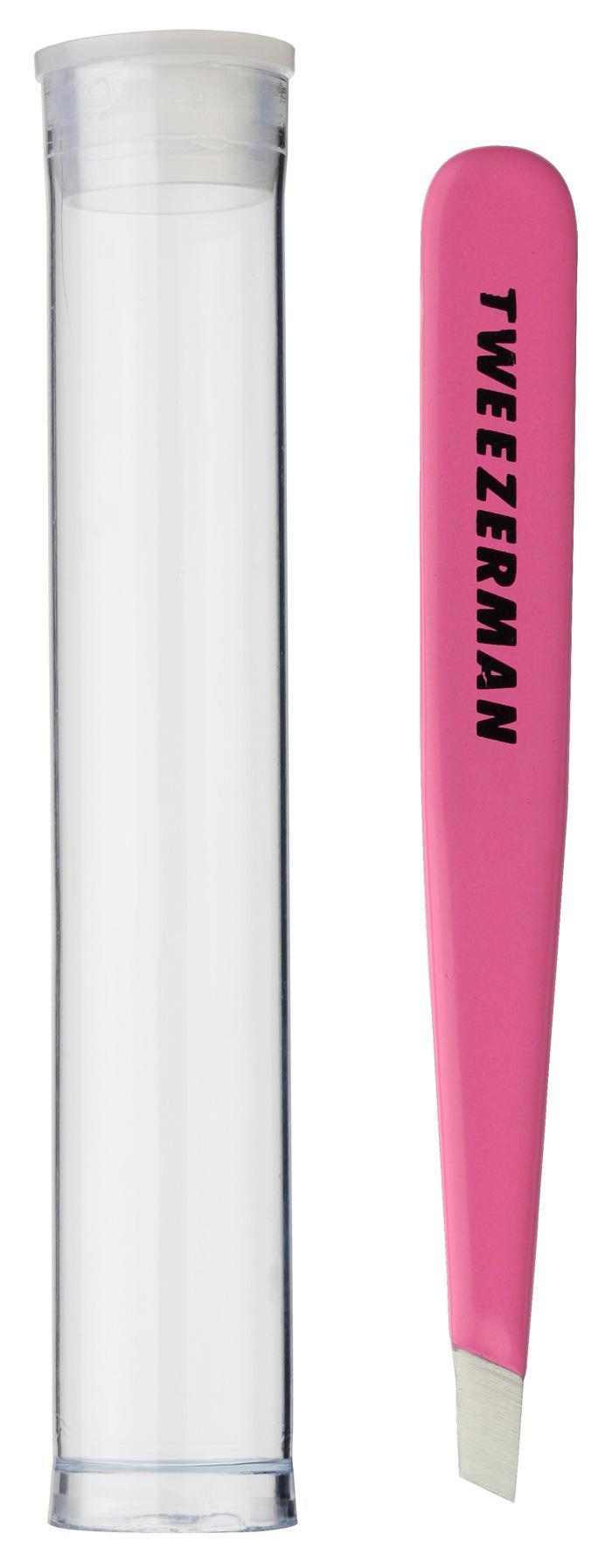 Tweezerman - 1248-FPR - Mini Slant Tweezer Flamingo