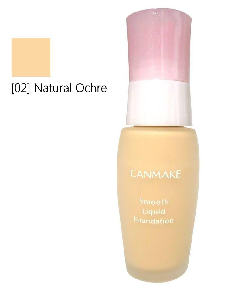 Canmake - Smooth Liquid Foundation 02 (28g)