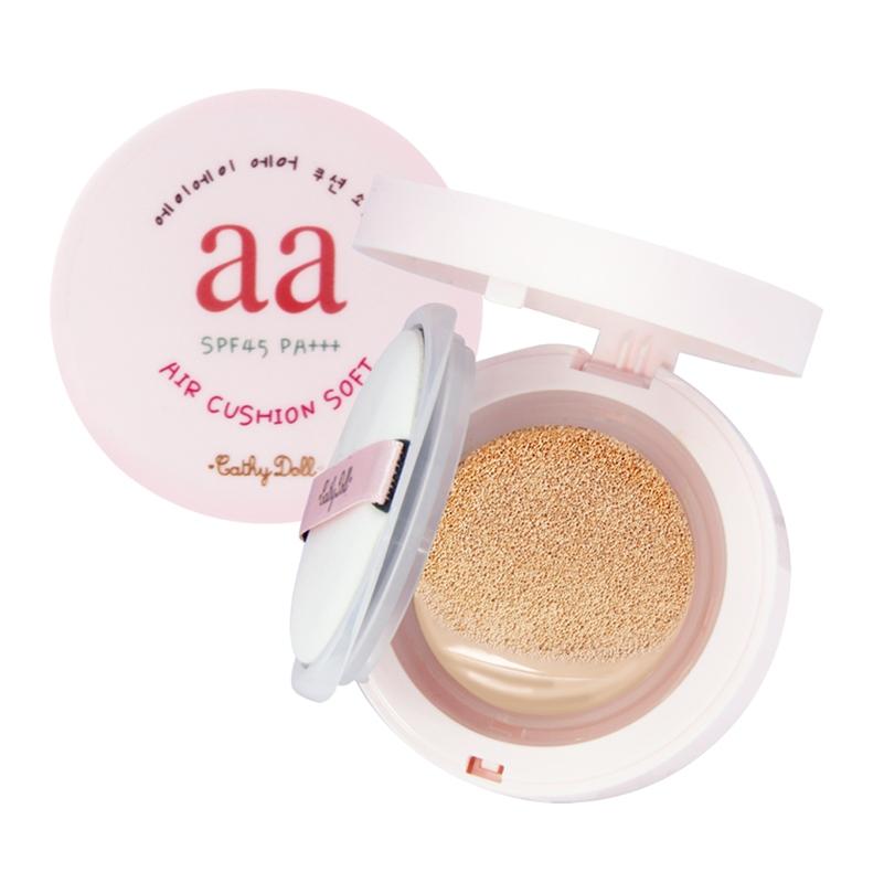 Cathy Doll - AA Air Cushion Soft SPF45 PA+++ (12g) (Choose Color)