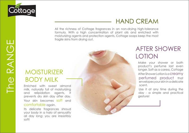 Cottage - Moisturizing Body Milk 250ml (Choose Scent)